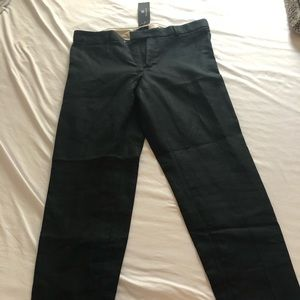 Gorgeous BR straight leg pants with zip ankle